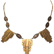 Egyptian Revival Necklace, Pididdly Links