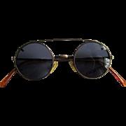 Vintage Rapp, Eye Glass Frames, Bronze 80's Wire Rims