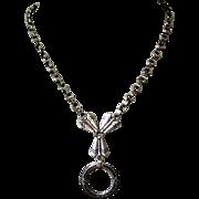 Art Deco Necklace, Greek / Egyptian Revival, Wreath