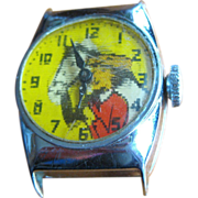 Dale Evans Flicker Watch, Buttermilk, 1950's  Western