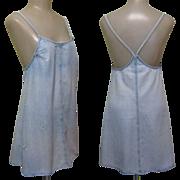 Denim Sun Dress, 80's Vintage Laundry