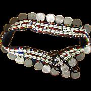 Vintage Coin Belt, Tribal