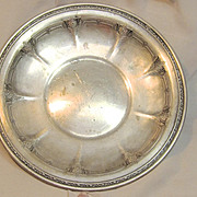 1920's Sterling Towle Plate