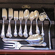 Towle Old Master Sterling Silver Flatware Set 61 Pieces