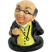 Royal Doulton Miniature Bust - Dickens Mr. Pickwick