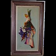 Original oil  Classical Still life  P. B. Wright