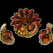 BOOK PIECE Juliana Watermelon Brooch Set Brooch/Earrings