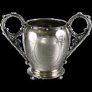 Antique Gorham Coin Silver Sugar Bowl c.1860