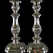 Gorham Sterling Silver Candlesticks c.1913 Georgian Style Antique