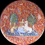 Vintage Haviland Limoges French Tapestries Plate