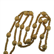 Hand made 18KT Gold Long Chain