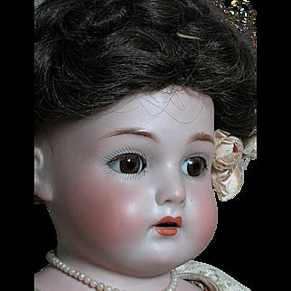 Rare German Kammer Reinhardt Doll Jointed Kid Body Wonderful Outift