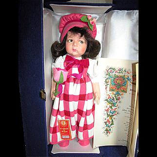 Lenci Doll   Vannesa in Original Blue Box with Certificate Mint