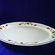 Autumn Leaf  11 1/4 Inch Platter by Hall China