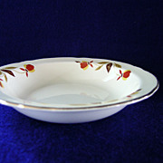 Set of Four Autumn Leaf Fruit Bowls by Hall China Company