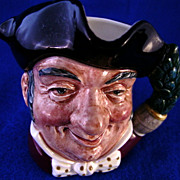 "Royal Doulton Character Jug ""Mine Host""  # D6470 Toby Mug"