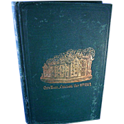 1871 History of the Great Chicago Fire (Conflagration)