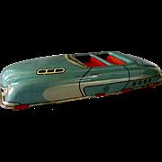 Marx Convertible Tin Litho Toy Car