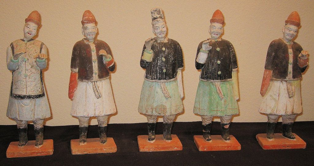 Chinese Ming Dynasty Pottery Figures
