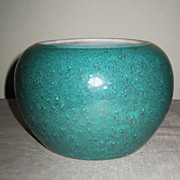 19th C. Chinese Robin's Egg Blue Glaze Vase