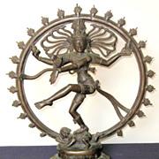 Southern India Bronze Shiva Nataraja