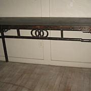 19th C. Chinese Walnut Long Table