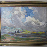 Landscape Oil Painting by William Dampier