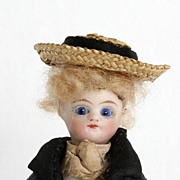 French All-Bisque Mignonette A Charming Boy in Original Costume