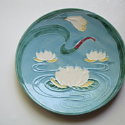 Vintage Western Germany Majolica Plate