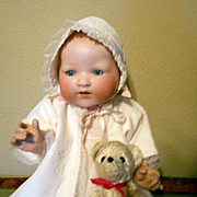 """Armand Marseille Large 351 Bisque Head Baby-18"""" Tall"""