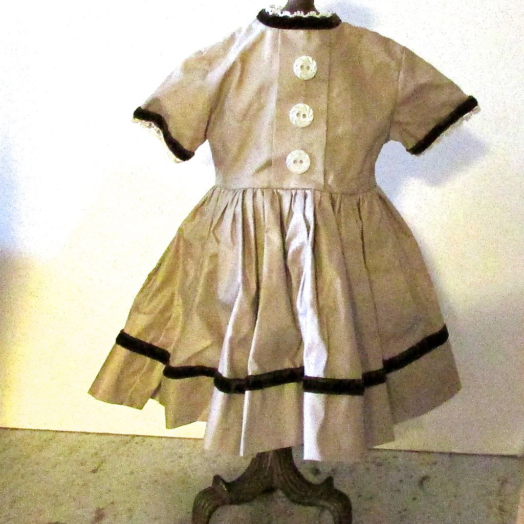 Vogue labeled Doll Dress from the 1950's