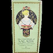 New Calendar of SALADS; Elizabeth O. Hiller