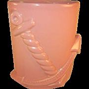 Abingdon U.S.A. Pottery Anchor Vase