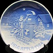 Vintage Bing & Grondahl 1984 Christmas Plate