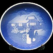 Vintage Bing & Grondahl 1973 Christmas Plate