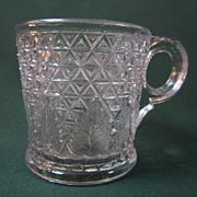 Diamond Cut with Leaf Mug