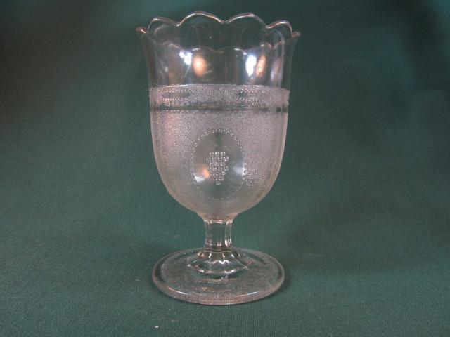 Beaded Grape Medallion Spoon Holder