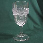 EAPG  Queen Pattern  Goblet