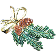 Gerry's Evergreen and Pinecone Pin