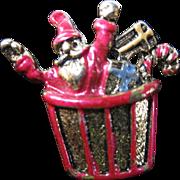 1949 Sarah Coventry Christmas Pin