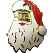 Signed Santa Pin by AAi
