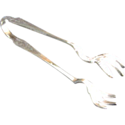 Reed and Barton Silver Plate Sugar Tongs