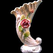 Lefton Cornucopia Vase