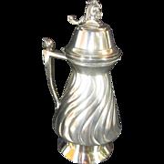 Syrup Pitcher by Meriden B. Company Quadruple Plate