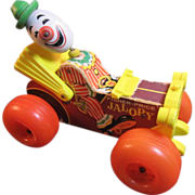 Fisher Price Jalopy Pull Toy 1965
