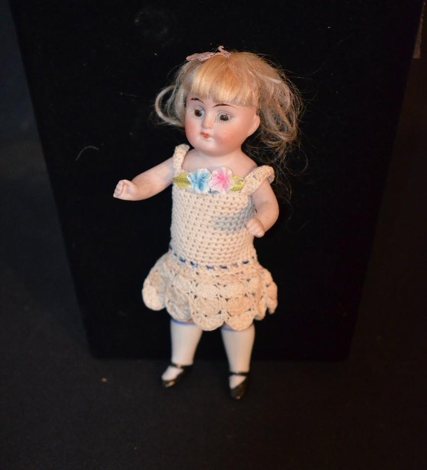 Antique Miniature Bisque Doll Kestner Dollhouse