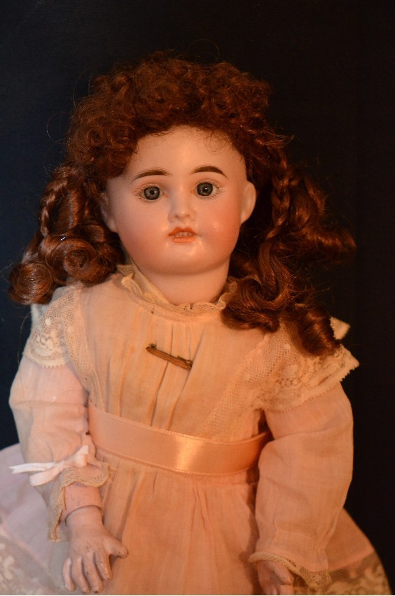 Antique Doll Sonneberg Bisque French Market