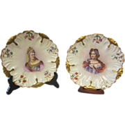Pair of Limoges Cabinet Plates