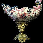 Austrian-Hungarian Porcelain Compote