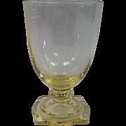 Heisey Glass Carcassonne 2 Oz Tumbler #3390